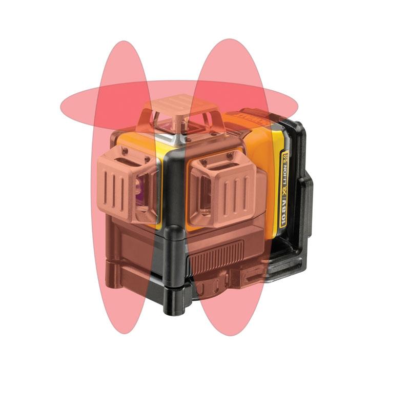 ΛΕΙΖΕΡ ΑΥΤΟΑΛΦ/ΝΟ DW ΠΟΛΥΓΡΑΜΜΙΚΟ ΚΟΚΚΙΝΗ ΠΡΟΒΟΛΗ XR LI-ION 10.8V (DCE089D1R)